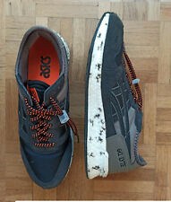 Asics Gel Lyte noire et grise à lacets élastiques , taille 41.5 , BE