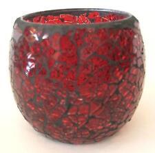 Teelicht Glas Mosaik 10x9cm DxH Tischdeko Tischlicht Windlicht 05