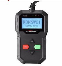 KW590 OBDII CAN Diagnostic Scanner Car Engine Fault Code Reader Scan Tool Engine