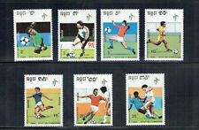 Football Cambodian Stamps