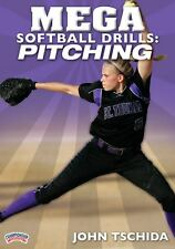 Mega Softball Drills: Pitching (DVD, 2009) Usually ships within 12 hours!!!