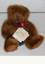 RUSS - Bears From The Past - Med Brown Wooley Bear - NEW!  Vintage Collectible
