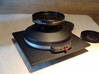 "Schneider Kreuznach/Sinar - Super-Angulon 90mm f=8 ""Großformat Lens"" - OVP!"