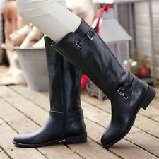 AVON FAB CHANDRA LEATHER LOOK RIDING BOOTS & FREE AVON SCARF