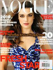 UK Vogue 1/10,Rachel Weisz,Lara Stone,Catherine McNeil,Liberty Ross,January 2010