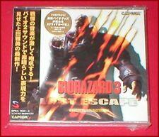 Resident Evil Biohazard 3 Last Escape Original Capcom Soundtrack NEW SEALED