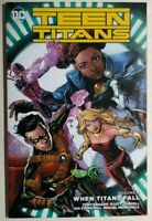 TEEN TITANS volume 4 When Titans Fall (2017) DC Comics TPB 1st FINE-