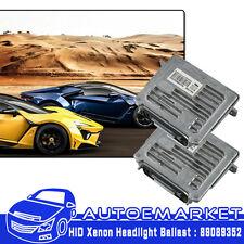 2X Valeo Xenon Headlight Ballast Module 89089352 For Buick GMC Jaguar Chevy