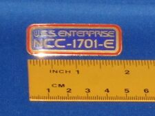 Star Trek USS Enterprise NCC 1701-E Call Letters Pin Badge STPIN1034