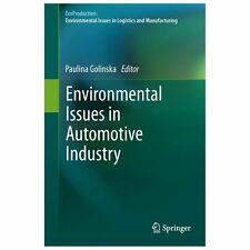 Environmental Issues in Automotive Industry (2013, Hardcover)