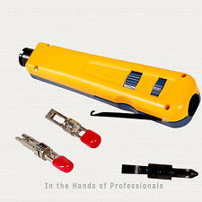 FLUKE Networks D914™ Impact Tool w/66 + 100 EverSharp™ Blade 10051501 > NEW