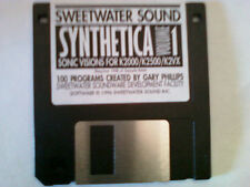 Kurzweil ~ New Old Stock ~ SYNTHETICA vol.1 Kurzweil V.A.S.T Programs!!!