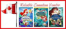 THE LITTLE MERMAID TRILOGY - LITTLE MERMAID 1 2 3 - LITLE MERMAID I, II, III