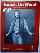 RAZZY BAILEY Sheet Music KNOCK ON WOOD Columbia Pictures Publ. 80's COUNTRY