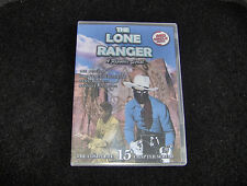 THE LONE RANGER CLIFFHANGER SERIAL 15 CHAPTERS 2 DVDS