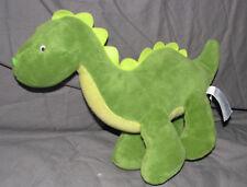 Carters Green Dinosaur Plush Baby Boy Stuffed Animal Lovey Toy 15091 DRAGON