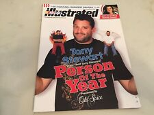 Nascar Illustrated - Tony Stewart Person of The Year - December 2008 Edition