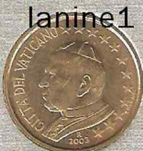 10 CENT DU COFFRET BU VATICAN 2003 (RARE)