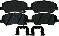 Disc Brake Pad Set-Semi Metallic Disc Brake Pad Front ACDelco Advantage