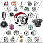 Hot 925 Silver Charms Necklace Pendant For Sterling European Bead Bracelet Chain