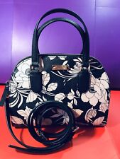 Kate Spade Handbag Mini Reiley Laurel Way Gardenia Blackmulti RRP£275 On Sale