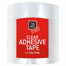 Clear Adhesive Sellotape Tape Ensuring Gifts Parcels Amp Packages