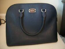Michael Kors Navy Blue Selma Dome Medium Hand Bag