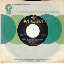 THE ANIMALS - DON'T LET ME BE MISUNDERSTOOD - ORIGINAL MGM 45 - GREAT SHAPE