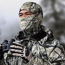 Snow Camo Full Face Mask Balaclava Motorcycle Cycling Hunting Ski Cap Hats Cover