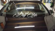 VAG LIFE Windscreen Car Sticker Vinyl Decal JDM VW Golf Lupo SEAT Leon Stance ST