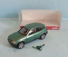 20804 HERPA / GERMANY / BMW SERIE X 3 VERT METAL HO 1/87