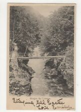 Gorges de l'Areuse 1903 U/B Postcard Switzerland 390a