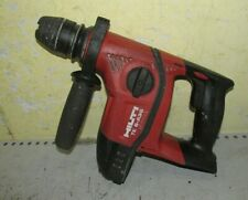 HILTI TE6-A36  SDS+ Cordless Hammer Drill 36v Bare unit No battery charger
