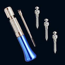 Dental Implant Instrument Mini Implant Driver+3pcs Self-Drilling Implant Screws
