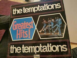 THE TEMPTATIONS : Greatest Hits : uk Motown vinyl LP 1967 MONO