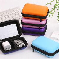 Digital Disk/USB/Data Cable Storage Bag Travel Gadgets Organizer Case For Hard