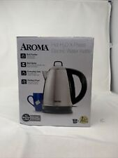 Aroma AWK-115S Hot H20 X-Press 1-1/2-Liter Cordless Water Kettle 021241061155