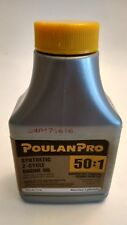 Synthetic 2-Cycle Engine Oil Poulan Pro 50:1 2.6 Oz. New Discount When Buy 2+