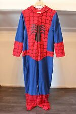 Men's Women's SPIDERMAN Onesie Official Marvel COMICS Long Sleeves Size Small