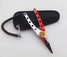 Stainless Steel Fishing Crimping Plier Scissors Hook Remover Line Cutter Tackle