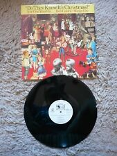 """Band Aid? saben es Navidad? Ext un año en 12"""" SINGLE VINILO 1985 Exc +"""