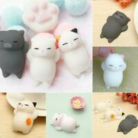 Cartoon Cat Squishy Toy Stress-Relief Soft Squeeze Toy Decompression Toy
