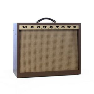 """Magnatone Traditional Collection Varsity Reverb 1x12"""" Guitar Combo Amp"""
