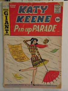 Archie KATY KEENE PINUP PARADE #10 (1960)
