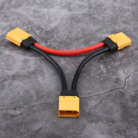 XT90 Connector in Series Harness 10awg Lead Adapter Cable for ESC Batteries