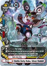 Buddyfight x 4 Battle Deity Robo, Silver Rabbit [D-BT02/0073EN U] English Mint F