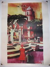 "1960s Usaf Poster 20x15"" Bataan-Another Day Amado Gonzalez Usaf Art Collection"