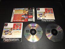 BUGS BUNNY et TAZ Time Busters et Wacky Racers pour PS1 Playstation 1