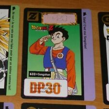 DRAGON BALL Z DBZ HONDAN CARDDASS BP CARD REG CARTE 633 VF FR 1995 **
