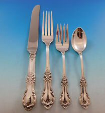 Wild Rose by International Sterling Silver Flatware Set for 8 Service 32 pieces